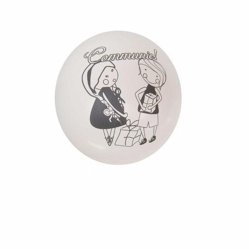 8 stuks communie ballonnen