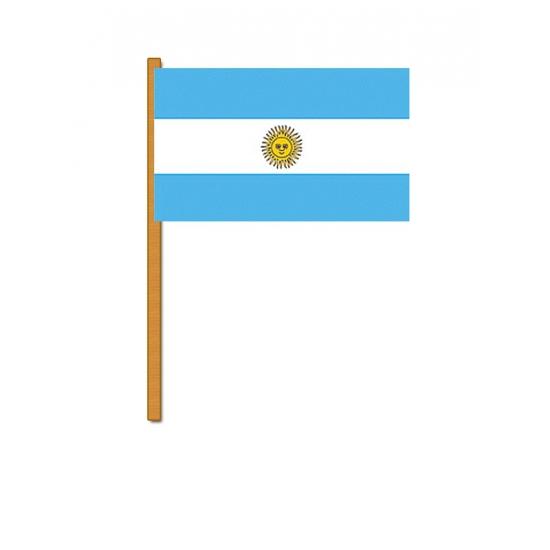 Argentinie zwaaivlaggetjes (bron: Oranjediscounter)