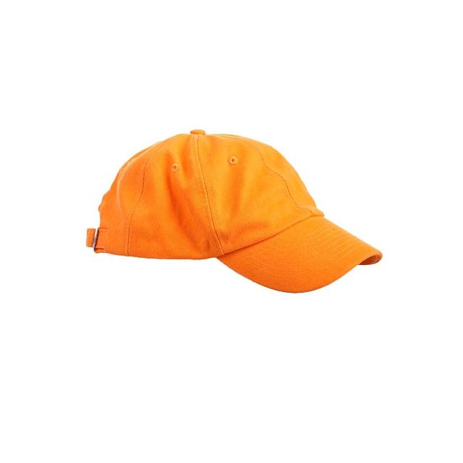 Baseballcaps in oranje kleur (bron: Oranjediscounter)