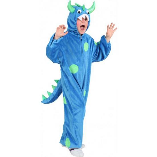 Blauw monster kostuum voor kids