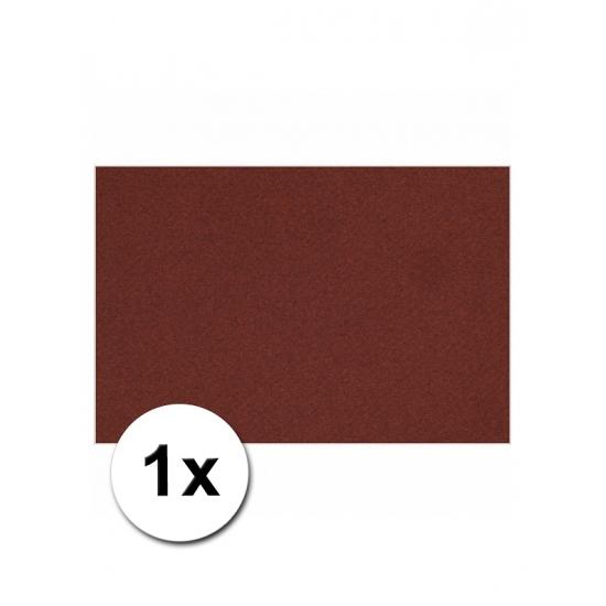 Bordeaux rood kartonnen vel A4 (bron: Oranjediscounter)