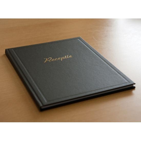 Bruiloft gastenboek zwart (bron: Oranjediscounter)