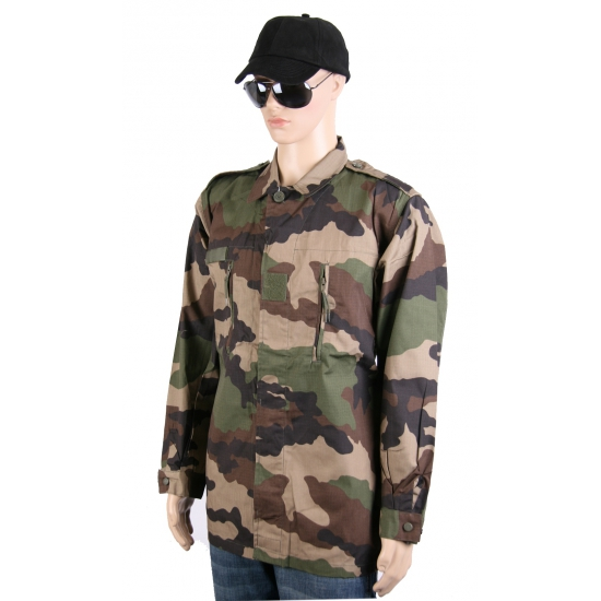 Camouflage ribstop zomerjas