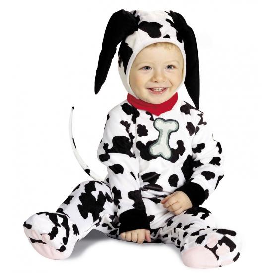 Dalmatier kostuum baby's (bron: Oranjediscounter)