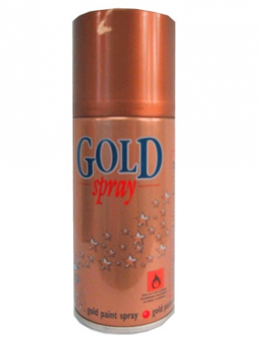 Decoratie spray goud 150 ml