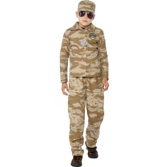 Desert trooper verkleedkleding voor jongens
