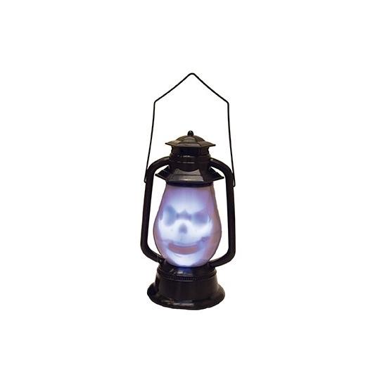 Doodshoofd lantaarn met licht en geluid (bron: Oranjediscounter)