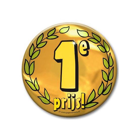 Eerste prijs button XXL (bron: Oranjediscounter)