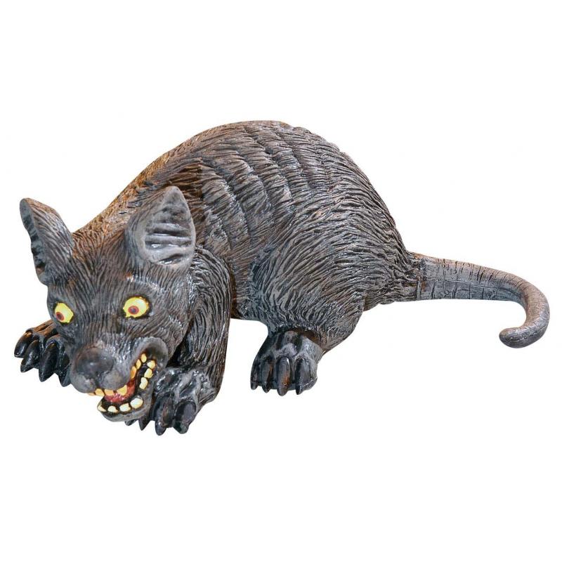 Enge decoratie ratten 32 cm