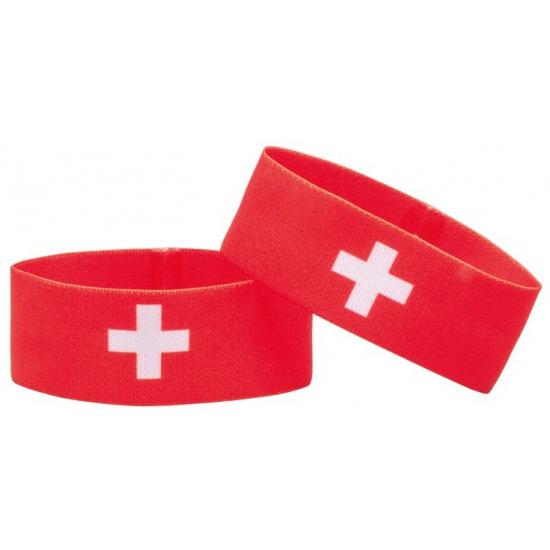 Fan armband Zwitserland (bron: Oranjediscounter)