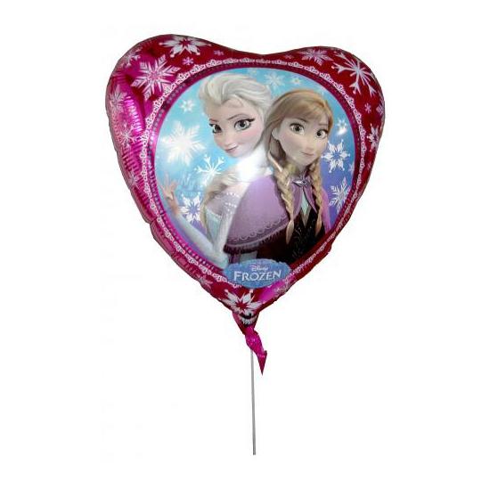 Folie ballon hart Elsa en Anna 43 cm (bron: Oranjediscounter)
