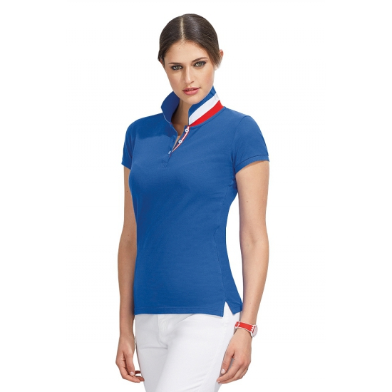 Franse polo voor dames