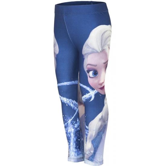Frozen legging blauw voor meiden