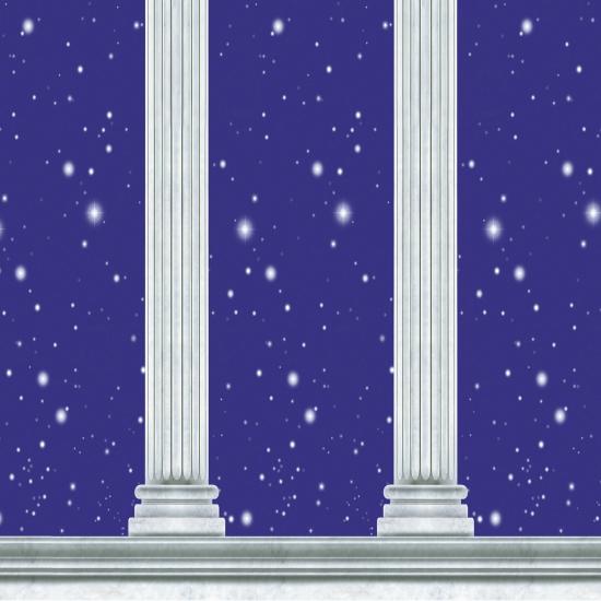 Griekse tempel scenesetter