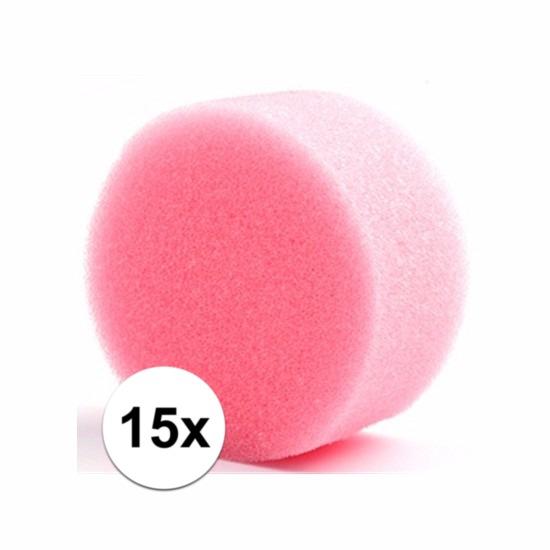 Grimas make up sponsjes rond 15 st. (bron: Oranjediscounter)