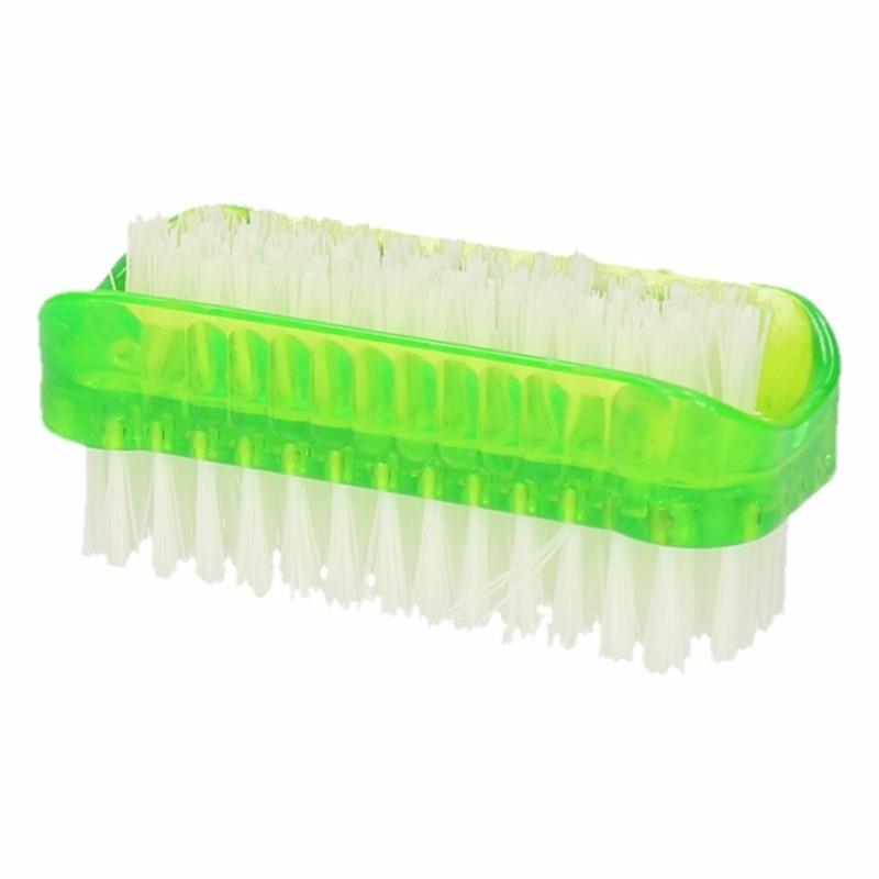 Groene nagelborstel