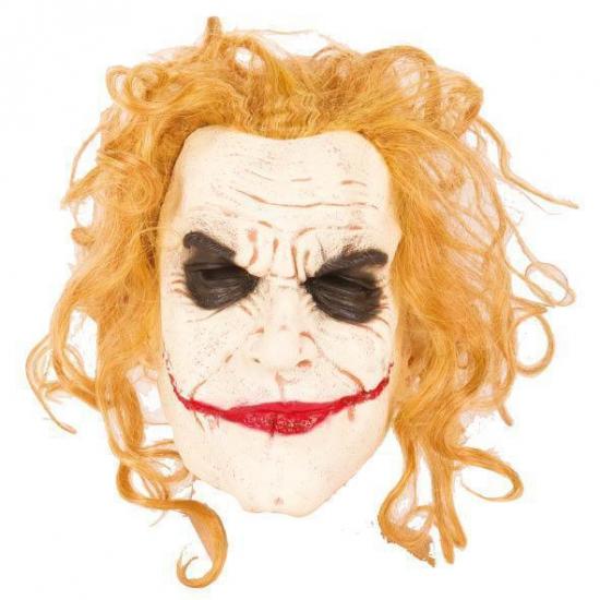 Halloween masker enge jokers monster (bron: Oranjediscounter)