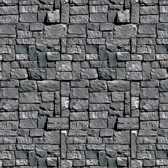 Halloween scenesetters stenen muur (bron: Oranjediscounter)
