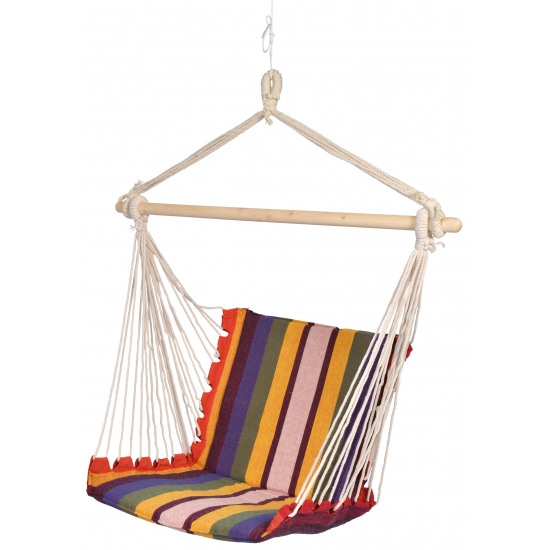 Hangmat stoel gekleurd