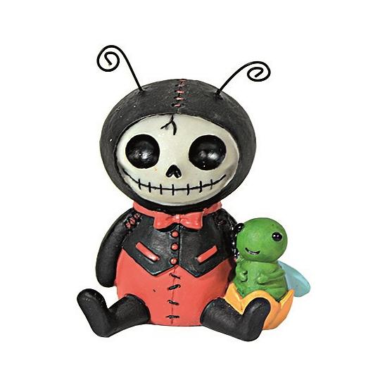 Horror decoratie beeldje Lieveheersbeest (bron: Oranjediscounter)