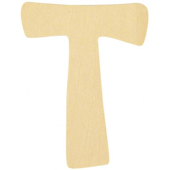 Houten lettertje T (bron: Oranjediscounter)