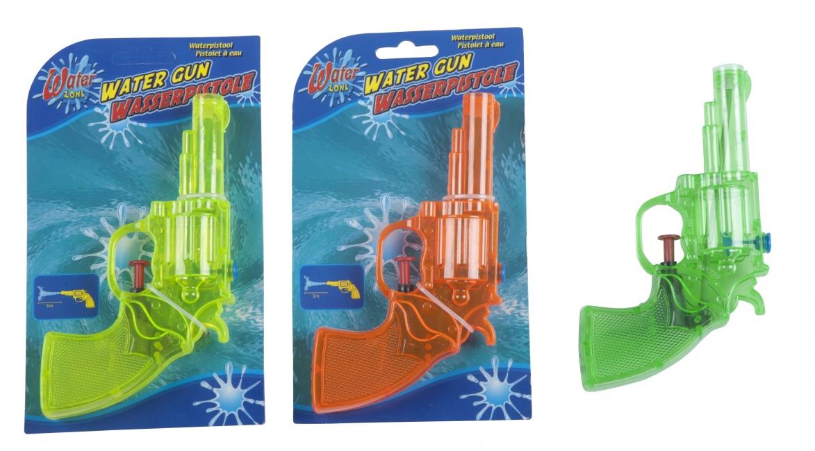 Kleine waterpistooltjes (bron: Oranjediscounter)