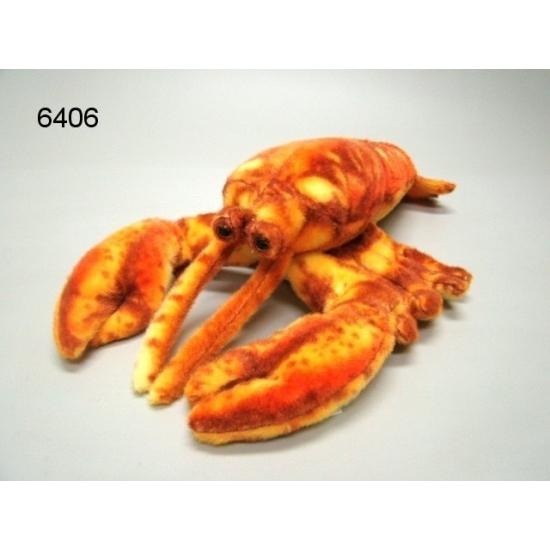 Knuffel kreeft van 28 cm