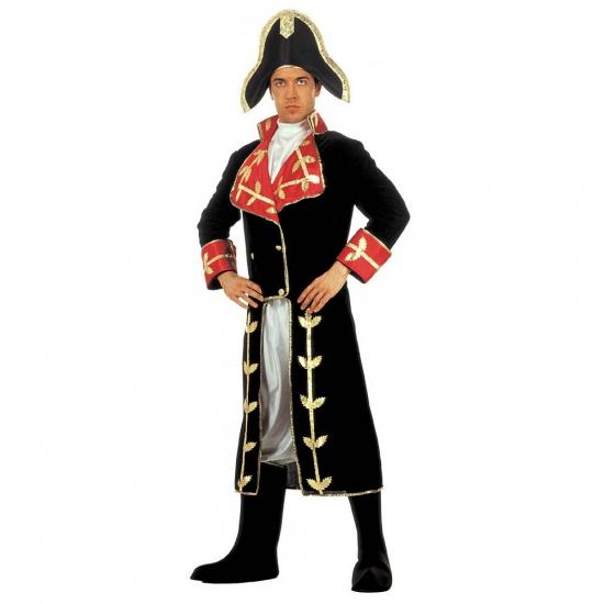 Kostuum Napoleon fluweel (bron: Oranjediscounter)
