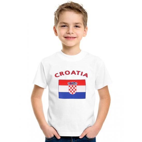 Kroatische vlag t-shirts voor kinderen