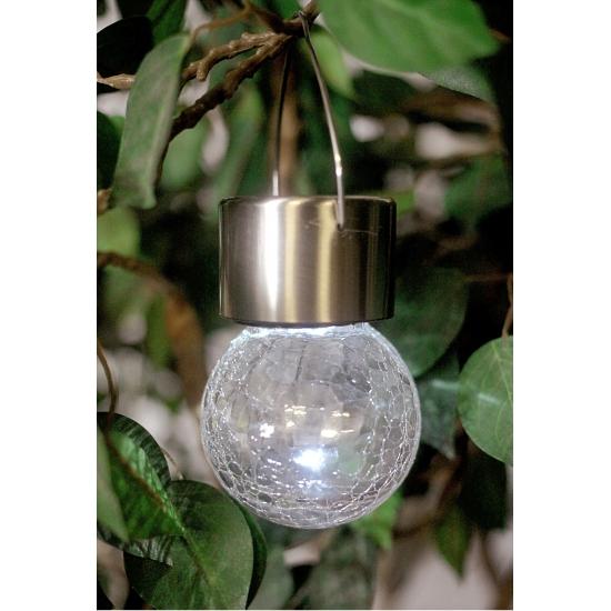 LED licht bolletje op zonne energie