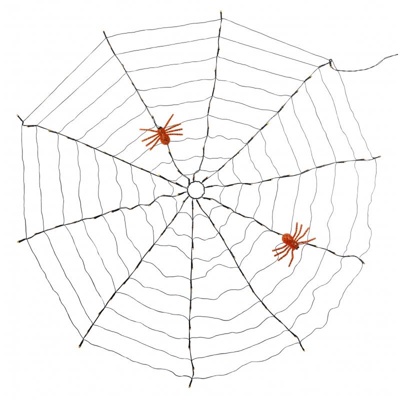 Led XXL spinnen web 120 cm