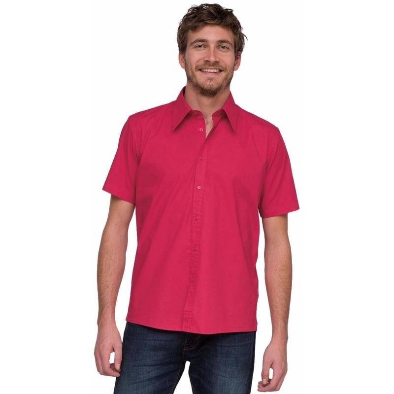 LemonSoda overhemd voor heren roze