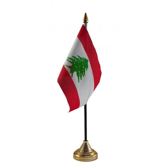 Libanon tafelvlaggetje