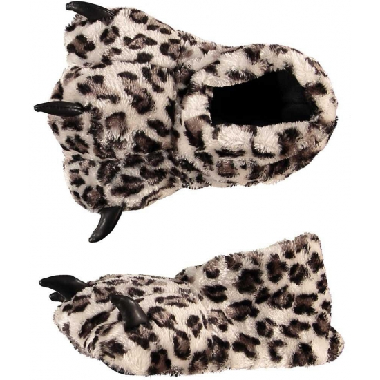 Luipaardpoot pantoffels voor kinderen