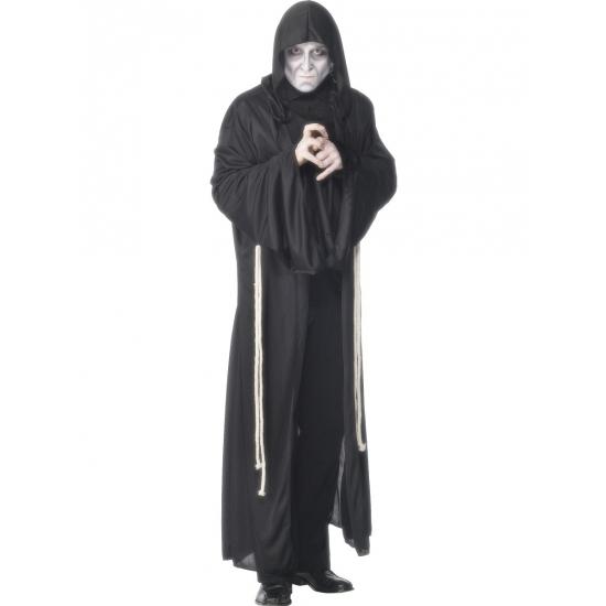 Griezelige magere hein kostuum voor volwassenen. dit magere hein kostuum bestaat uit een lange zwarte mantel ...