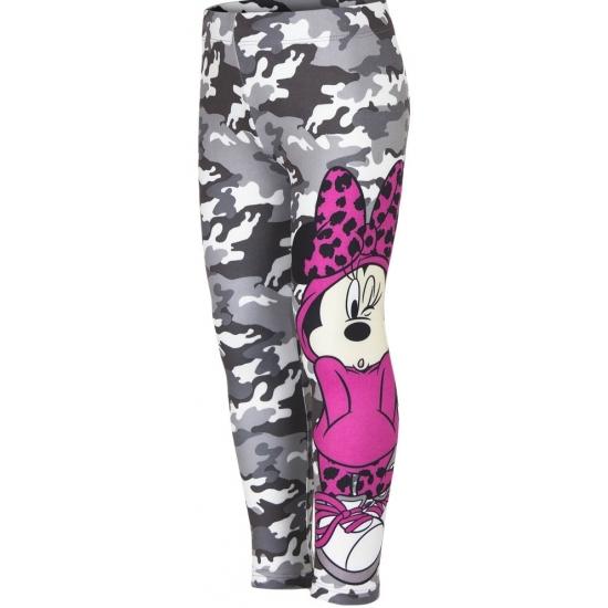 Minnie Mouse legging grijs voor meiden