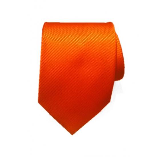Nette oranje stropdas voor heren