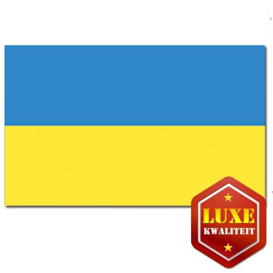Oekra?nse vlag goede kwaliteit (bron: Oranjediscounter)