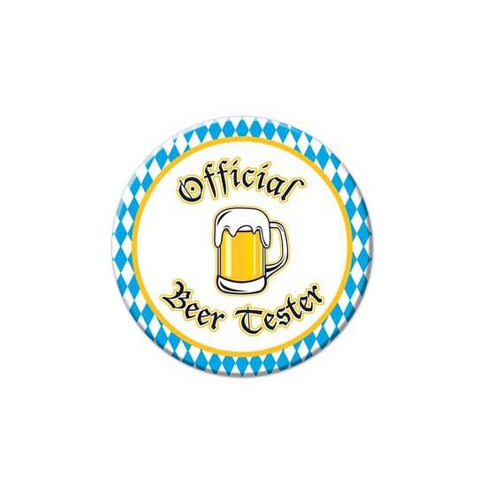 Oktoberfest buttons Beer Tester (bron: Oranjediscounter)