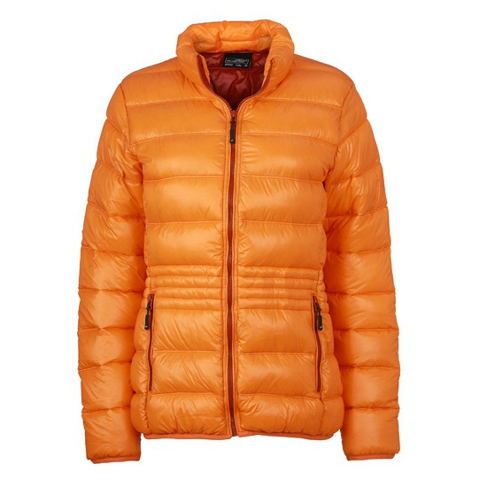 Oranje donsjassen voor dames