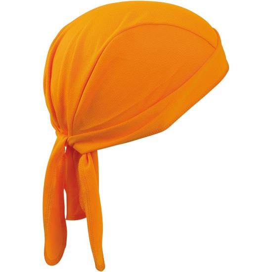 Oranje sport bandana
