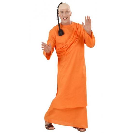 Oranje Tibetaanse monnik