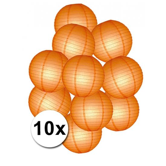 Pakket met oranje lampionnen (bron: Oranjediscounter)