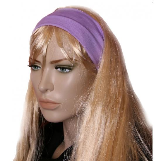 Pastel paarse dames haarband (bron: Oranjediscounter)