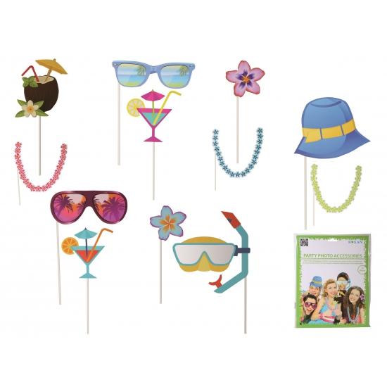 Photo booth prop accessoires strand (bron: Oranjediscounter)