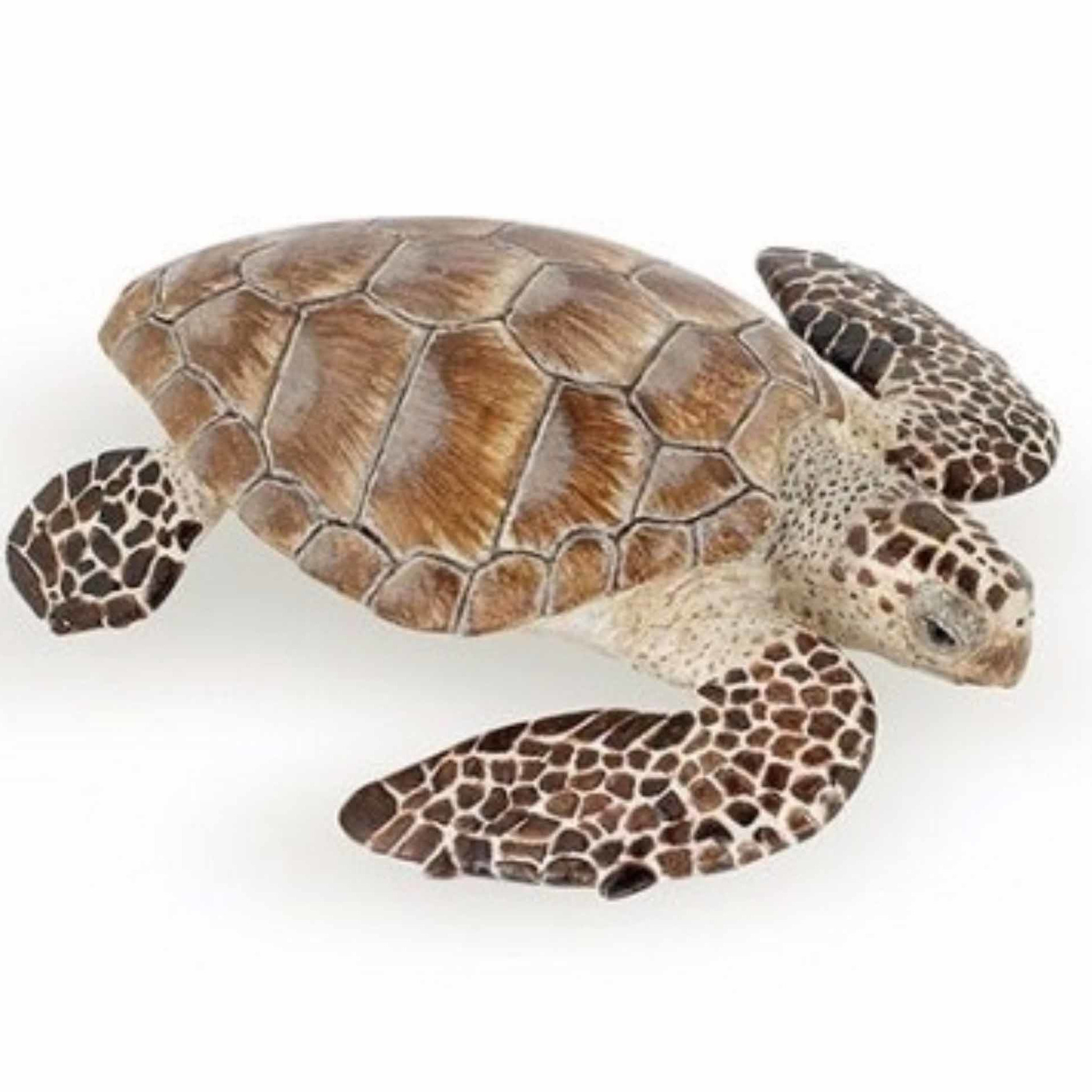 Plastic karetschildpad speeldiertje 7,5 cm (bron: Oranjediscounter)