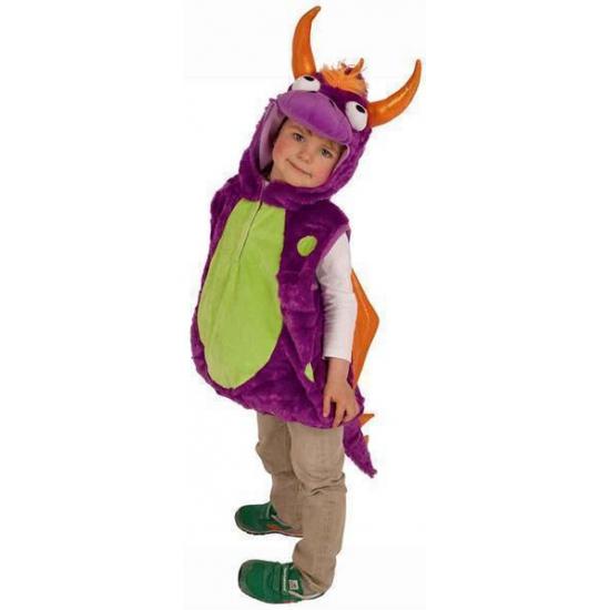 Pluche drakenpak voor kinderen