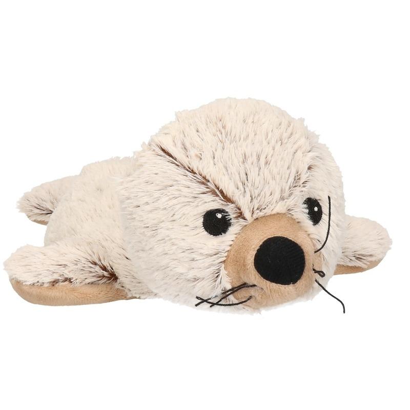 Pluche warmte knuffel zeehond