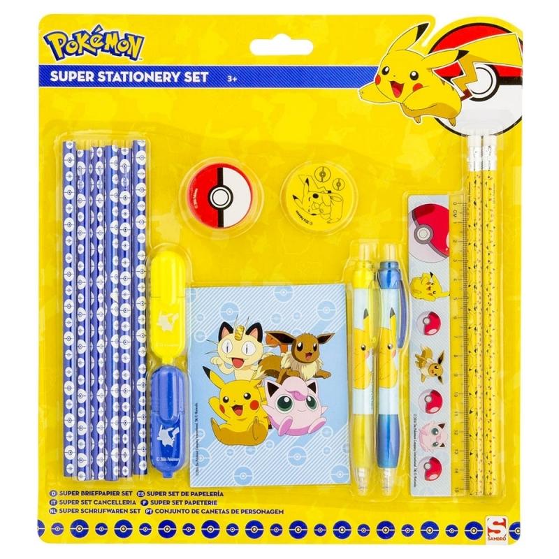 Pokemon schoolsetje pennen en potloden