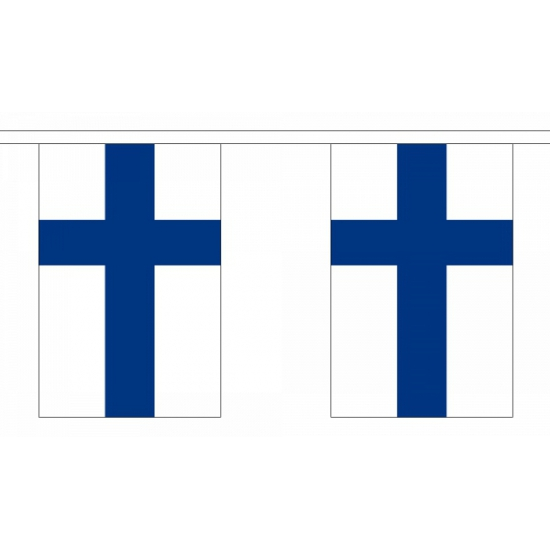 Polyester finland vlaggenlijn (bron: Oranjediscounter)